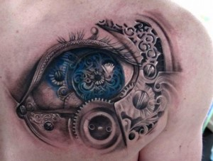 TATTOO EYE MECCANIC