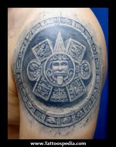 Maya 3d Tattoo Designs For Men 1